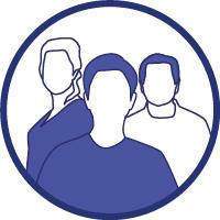 Un groupe d'individus