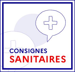 Consignes sanitaires