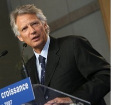French PM de Villepin