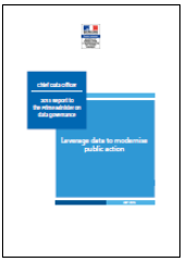 Leverage data to modernise public action