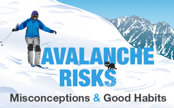 Infographic - AVALANCHE RISKS