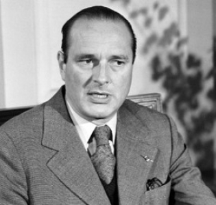 French PM Chirac