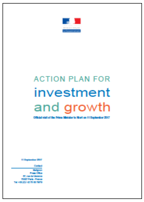 Frances' Action Plan for Investment and Growth