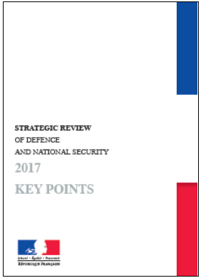 Strategic Review of Defence and National Security - 2017