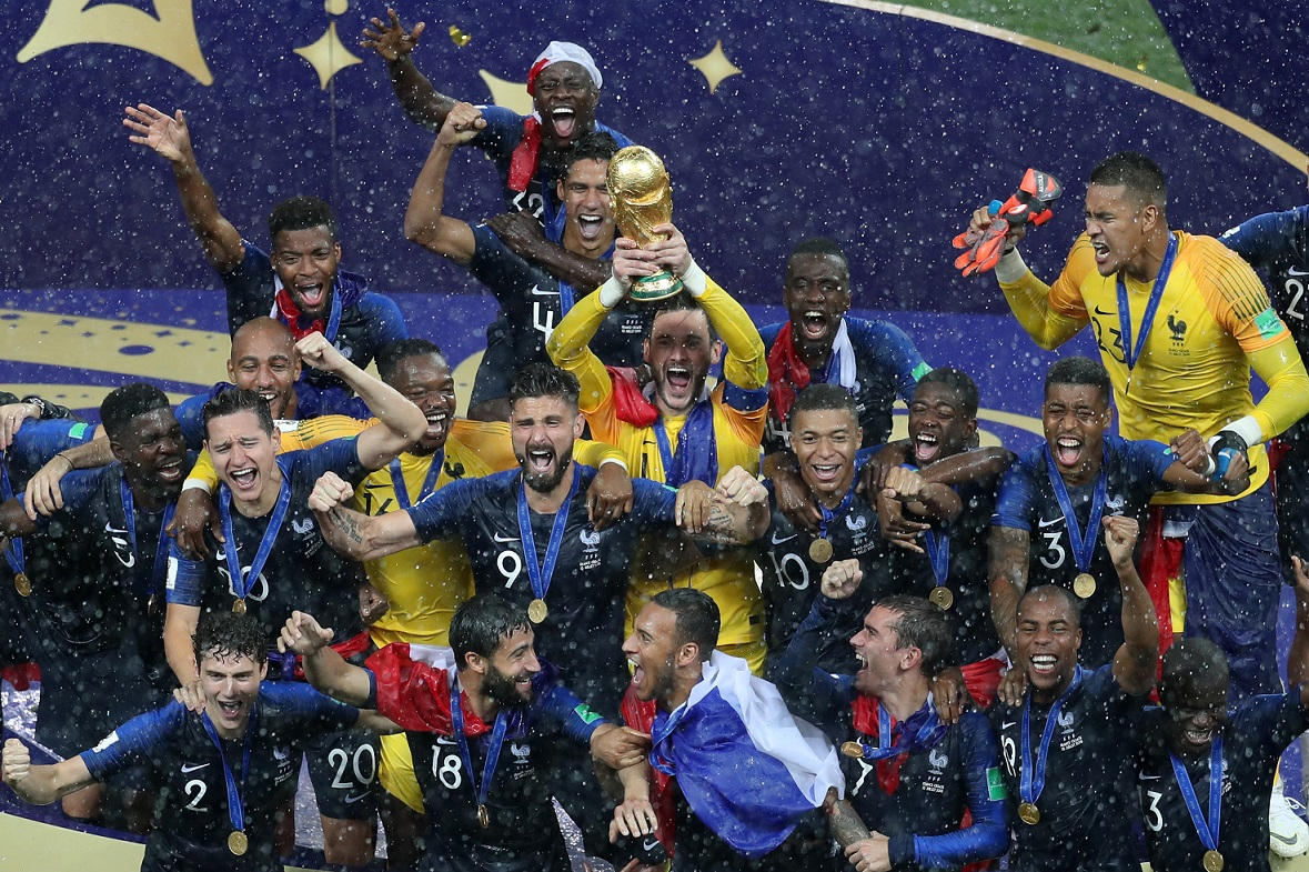 Video 2018 World Cup French Football Team Is World Champion Gouvernement Fr