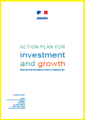 France - Action Plan for Investment & Growth