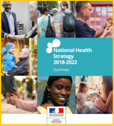 France - National Health Stratgey 2018-2022