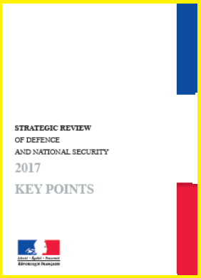 France - Strategic review - Defence - National Security - 2017