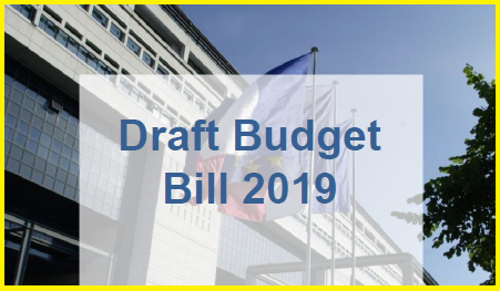 France - Draft budget bill - 2019