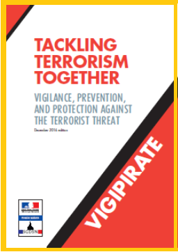 Tackling terrorism together - vigipirate