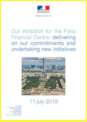Our Ambition for Paris' Financial Centre