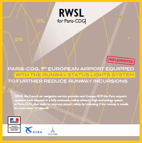 Airport safety - RWSL for Paris-CDG