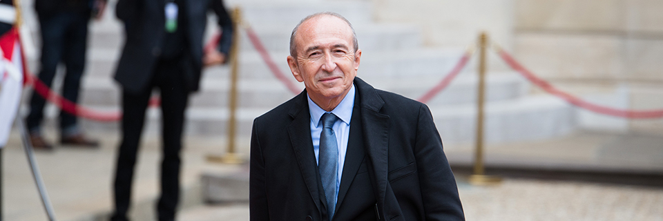G rard collomb for Cabinet du ministre de l interieur