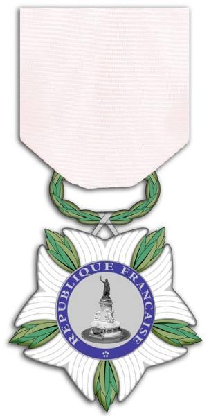 Photo de la médaille nationale de reconnaissance aux victimes du terrorisme