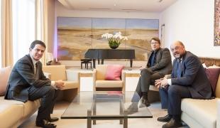 Déplacement de Manuel Valls à Berlin