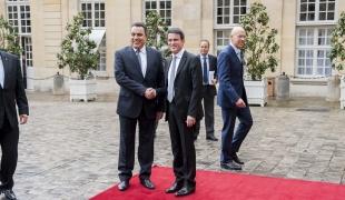 Réception de Mehdi Jomaa, Premier ministre tunisien
