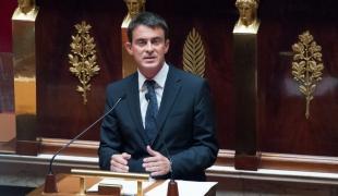 Discours sur l'intervention des forces françaises en Irak, conformément à l'article 35 de la Constitution