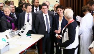 Déplacement de Manuel Valls à Lens consacré à la lutte contre le décrochage scolaire