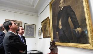 Visite du musée Clemenceau