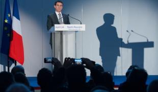 Déplacement du Premier ministre sur le site d'Alstom