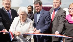 Inauguration de la résidence Marianne à Evry
