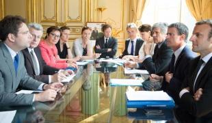 Réunion de ministres sur les filières d'élevage