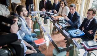 Consultations des syndicats lycéens et étudiants