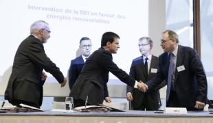 Déplacement à la Banque européenne d'investissement (Luxembourg), et au Parlement Européen (Strasbourg)
