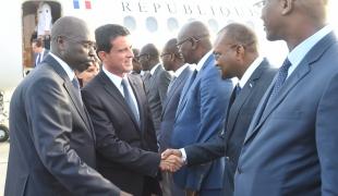 Déplacement de Manuel Valls au Sénégal