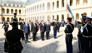 Cérémonie d'adieu aux armes du Général d'armée Denis Favier