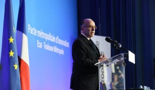Signature du pacte métropolitain d'innovation entre l'État et Toulouse Métropole