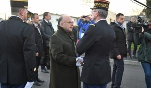 Déplacement à Cherbourg-en-Cotentin