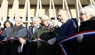 Inauguration du centre de formation d'apprentis du BTP de Blois