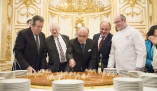 Cérémonie de la galette des boulangers du Grand Paris