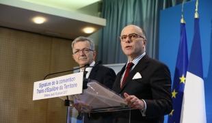 Signature de la convention Trains d'Équilibre du Territoire avec la région Centre-Val de Loire