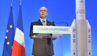 Déplacement à Arianespace