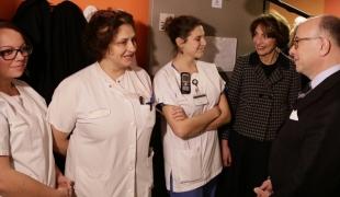 Déplacement au nouveau Centre Hospitalier Régional d'Orléans