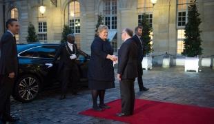 Entretien avec la Première ministre norvégienne