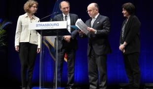 Déplacement à Strasbourg