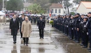 Cérémonie de fin de scolarité des gardiens de la paix de l'ENP de Nîmes