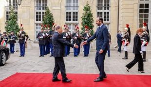 Visite officielle de Michel Aoun, président de la République libanaise
