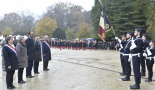 Cérémonie de commémoration de l'Armistice du 11 novembre 1918