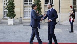 Visite du Premier ministre canadien Justin Trudeau