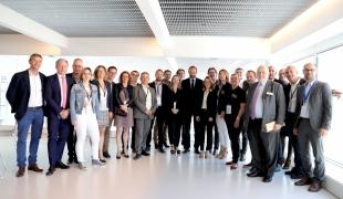 Edouard Philippe rencontre les jeunes dirigeants d'entreprises de Nancy