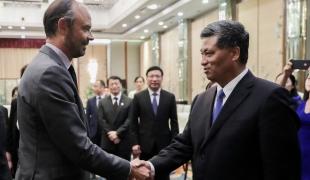 Chine : entretiens avec des représentants politiques chinois