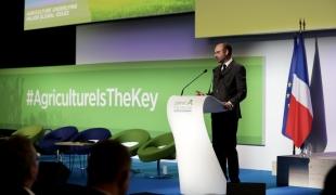 Discours au Forum international de l'agriculture
