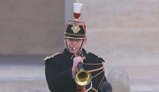 Hommage national à Daniel Cordier, compagnon de la Libération