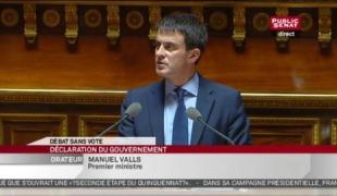 Discours de Manuel Valls devant le Sénat