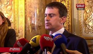 L'hommage de Manuel Valls à Dominique Baudis