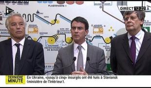 Intervention du Premier ministre à l'occasion de son déplacement en Eure-et-Loir